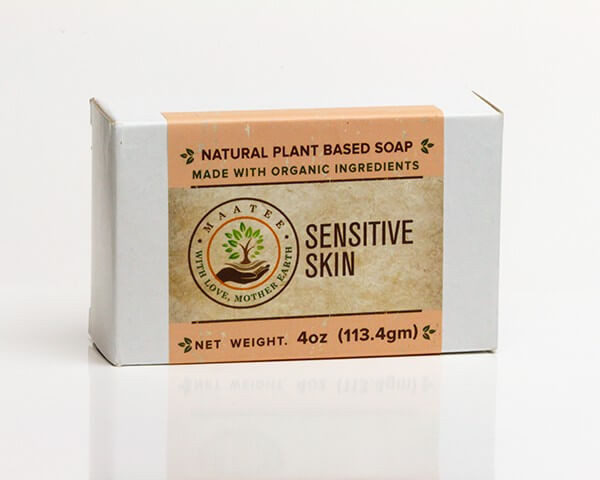 Sensitive Skin Organic Bar Soap package