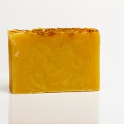 Lemongrass and Turmeric handmade bar soap