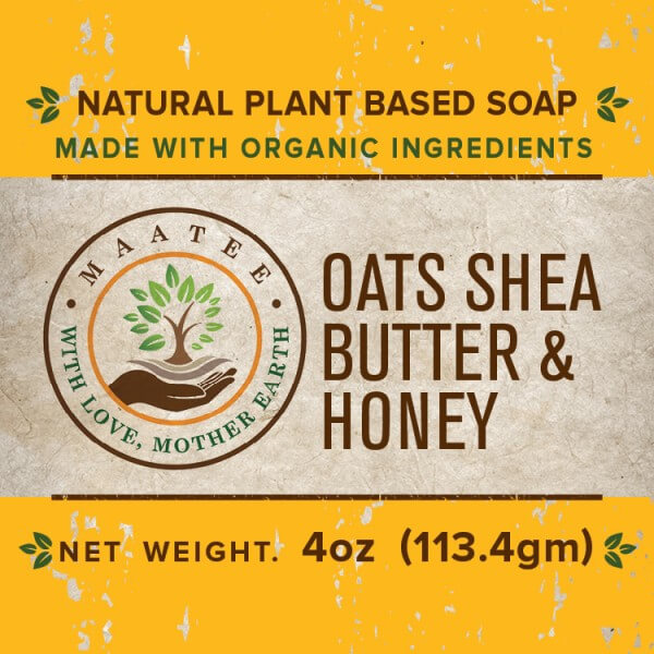 Oats Shea Honey front label