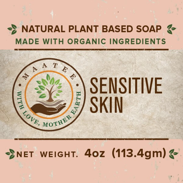 Sensitive skin front label