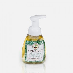 Peppermint And Rosemary Organic Liquid Foaming soap