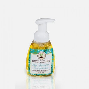 Sage Lemongrass Spearmint Organic Liquid Foaming soap