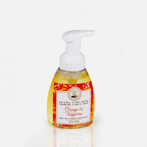 Orange and Tangerine Organic Liquid Foaming Soap