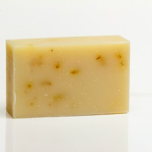 Pink Grapefruit And Calendula Petals Organic Bar Soap