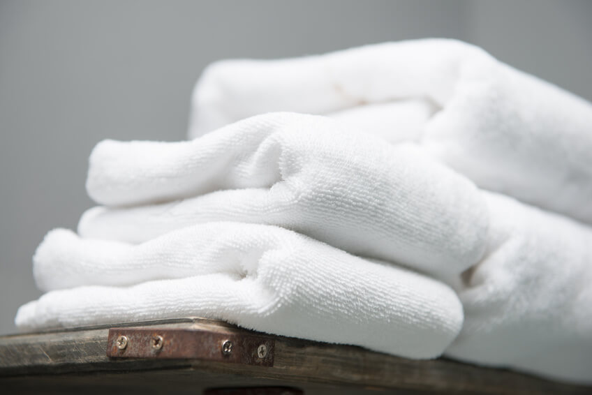 Organic White Towels