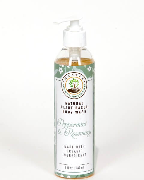 Peppermint And Rosemary Body Wash