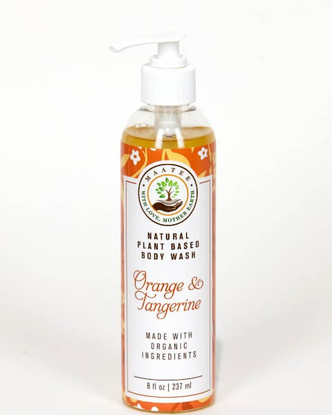 Orange and Tangerine Body Wash