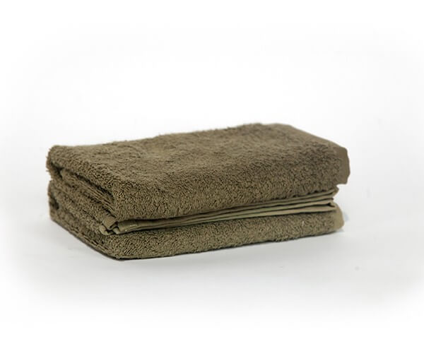 2 Olive Green Hand Towel