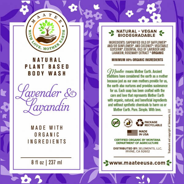 Lavender And Lavandin Body Wash