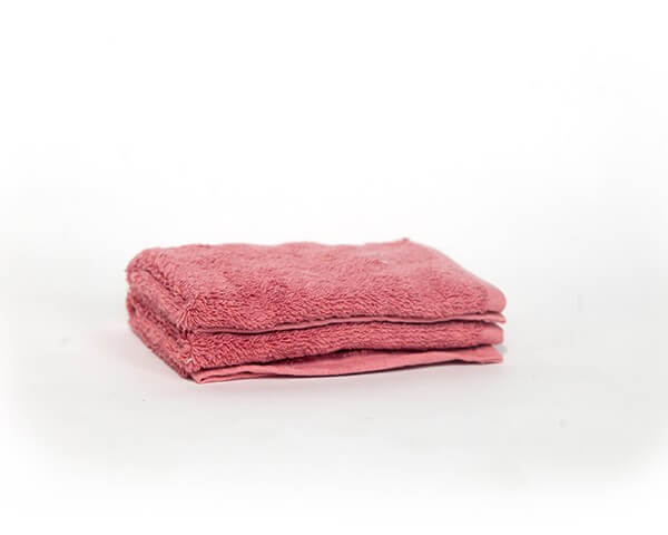 2 Pink Face Towels