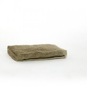 Olive Green Face Towel