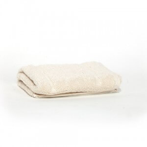 Cream Face Towel