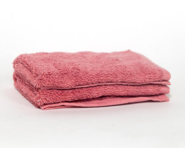 2 Pink Hand Towels