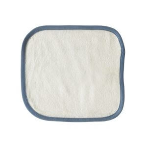 Organic Wash Cloth Blue