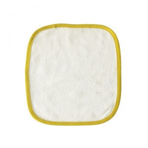 Organic Wash Cloth Yellow