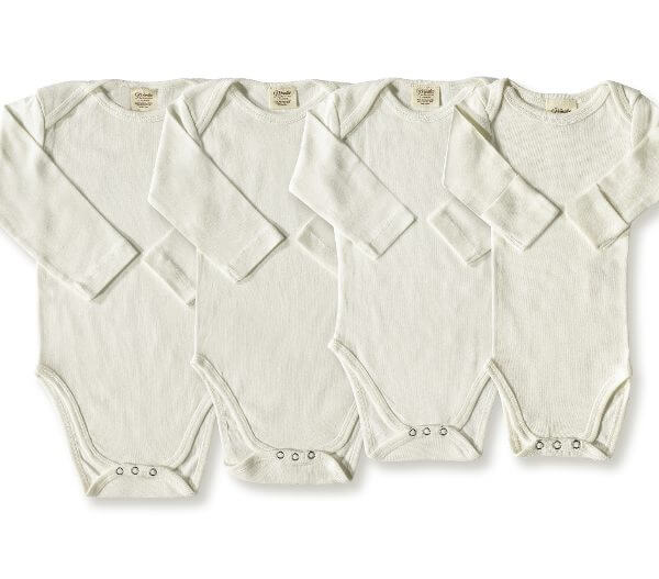 Dye Free Organic Long-Sleeve Bodysuit Group