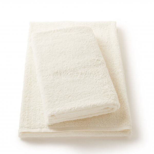 Sea Salt White Bath and Hand Towel