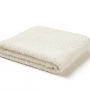 Sea Salt White Hand Towel