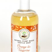 Orange and Tangerine Organic Castile Soap