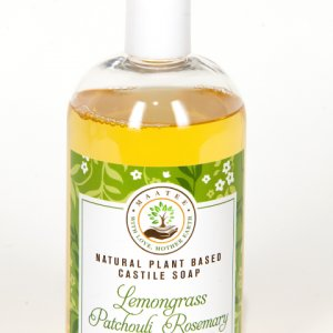 Lemongrass Patchouli Rosemary Castile Soap