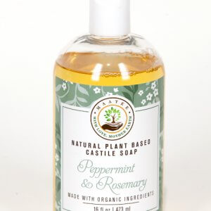 Peppermint and Rosemary Castile Soap