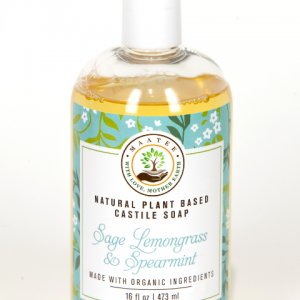 Sage Lemongrass Spearmint Castile Soap