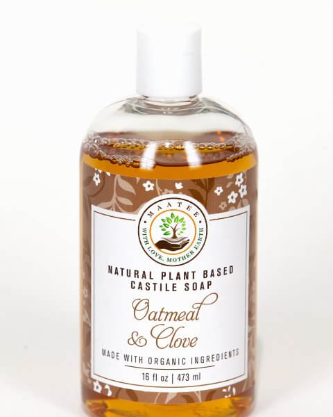 Oatmeal And Clove Organic Castile Soap
